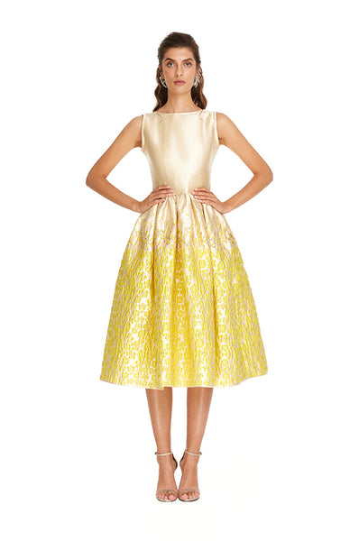 Yellow Daisy Tea Dress