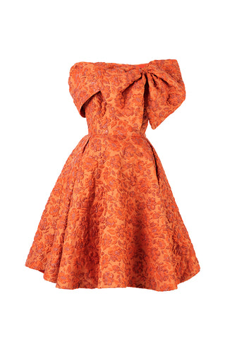Zinnia Side Bow Princess Dress
