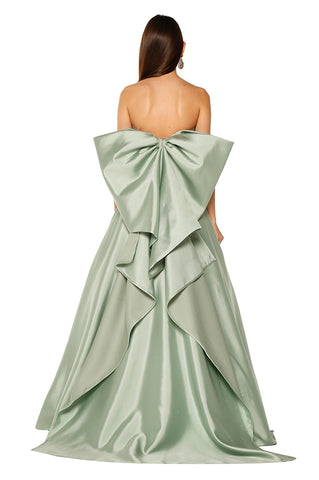 Tiffany Back Bow Gown