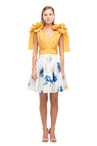 Yellow Sunflower Top