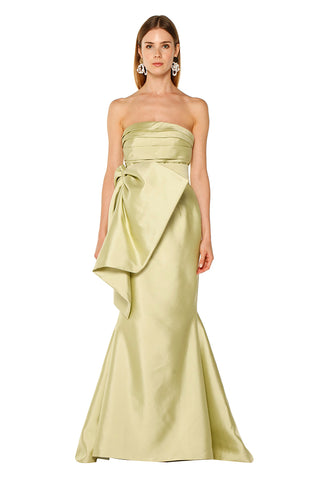 Green Cacti Bow Gown