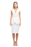 White Glory Pencil Skirt