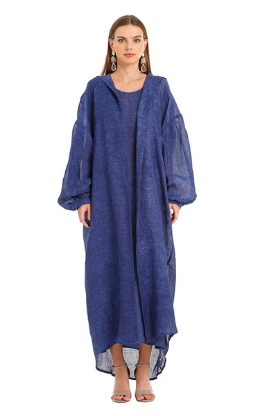 NAVY MARRAKESH ISABELLA KAFTAN