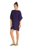 PURPLE PLAYA MINI KAFTAN