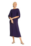 PURPLE PLAYA MIDI KAFTAN