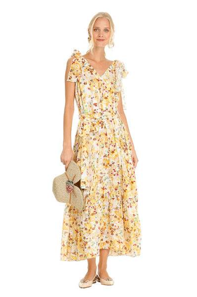 YELLOW TRIANGLE SUMMER DRESS