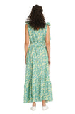 GREEN TRIANGLE SUMMER DRESS
