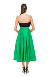 Green Kelly Midi Skirt
