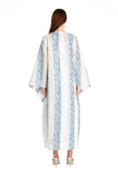 Navy Striped Mosa Kaftan