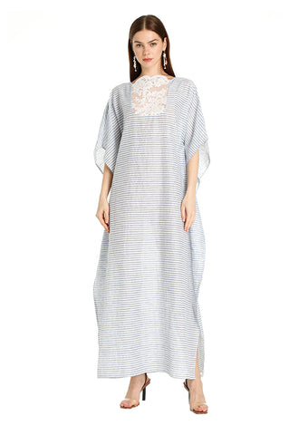 Blue Lace Sailor Kaftan