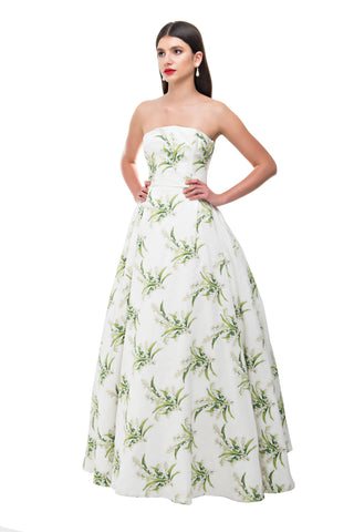 Gardenia Princess Gown