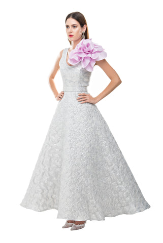 Argentina Princess Flower Gown