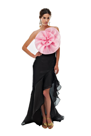 Black Gazaar Flamenco Skirt