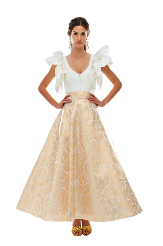 Gold Brocade Cinderella Skirt