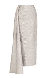 Silver Side Pencil Skirt