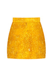 Yellow Violeta Mini Skirt
