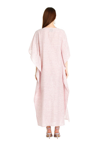 PINK LACE SAILOR KAFTAN