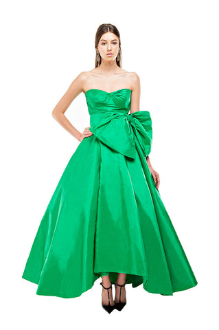 Green Kelly Sweetheart Gown