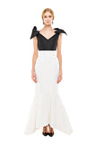 White Faille Mermaid Skirt