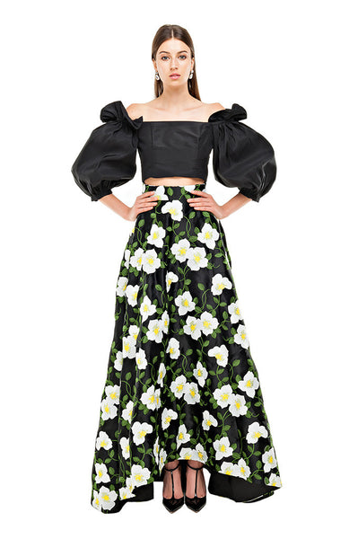Benny Black Maxi Skirt