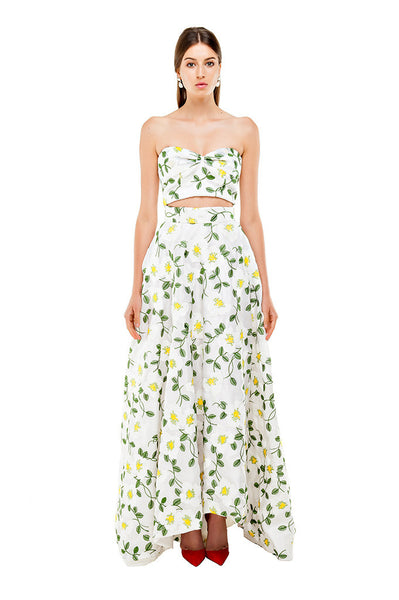 Benny White Maxi Skirt