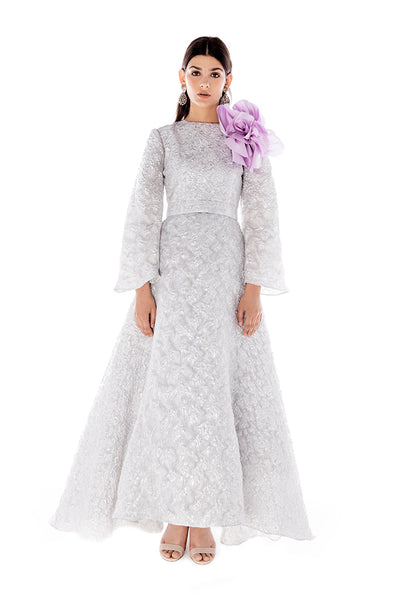 ARGENTINA LONG SLEEVE GOWN