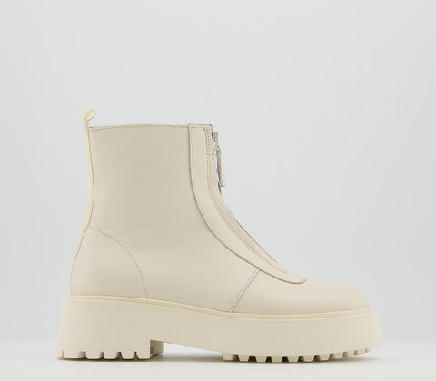OFFICE Womens Accomplish Chunky Ankle Boots