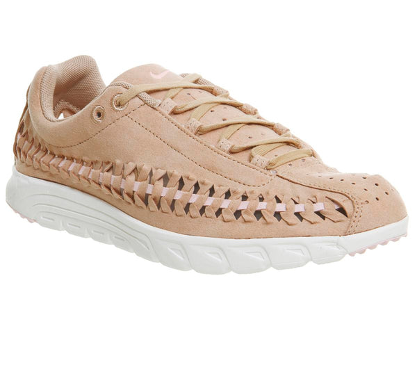 Womens Nike Mayfly Woven Vachetta Tan Pink Flash Uk Size 8