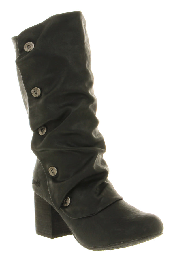 Womens Blowfish Tight Tall Boot Black Austin