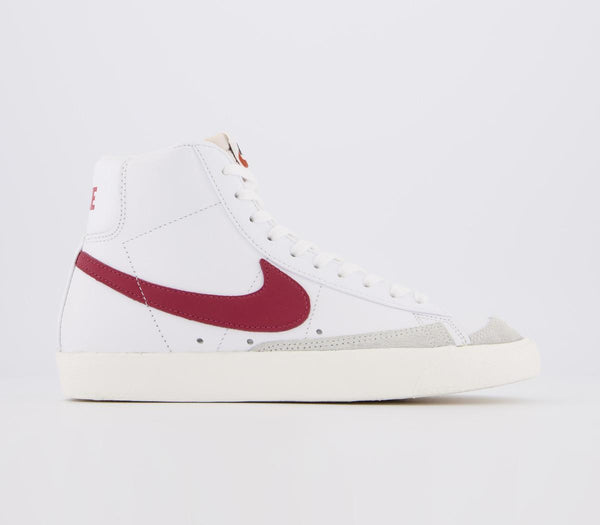 Womens Nike Blazer Mid 77 White Worn Brick Sail