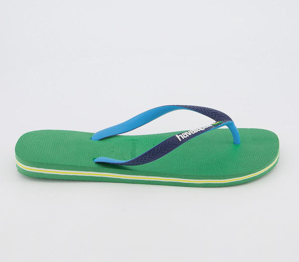 Mens Havaianas Brasil Mix Leaf Green