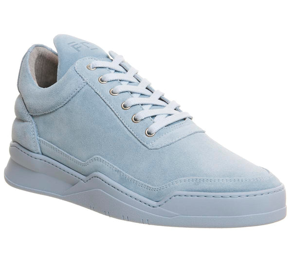 Mens Filling Pieces Low Top Tonal Blue