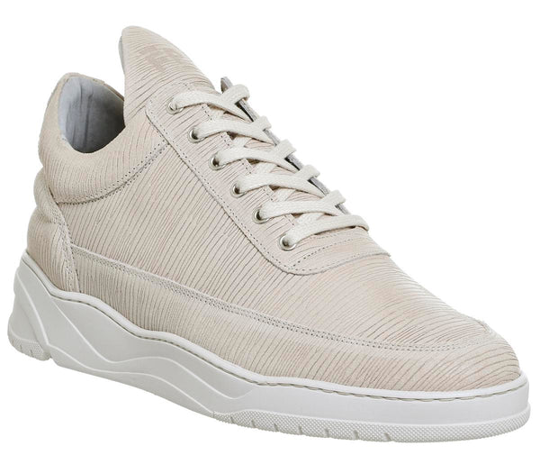 Mens Filling Pieces Low Top Astro Grove Beige