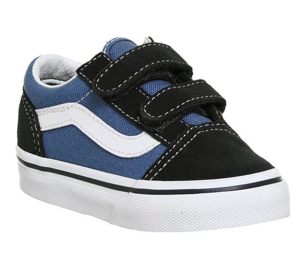 Kids Vans Old Skool (T) Navy True White