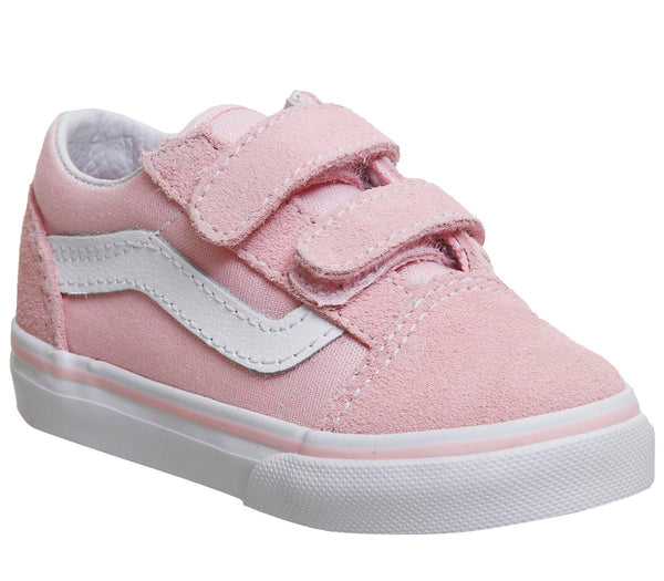 Kids Vans Old Skool (T) Chalk Pink True White