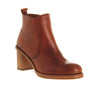 Womens   Office Victoria Zip Boot Tan Leather Uk Size 5