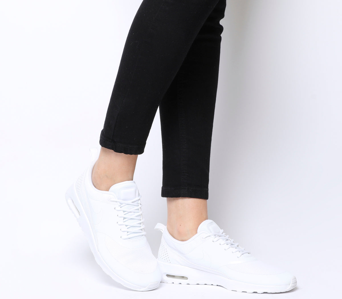ef99622c263 Womens Nike Air Max Thea White Mono Trainers – OFFCUTS SHOES by OFFICE