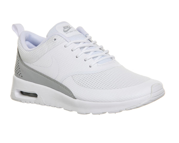 Womens Nike Air Max Thea White Txt Trainers Size 3.5