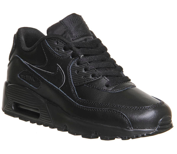 Odd sizes - Kids Nike Air Max 90 Gs Black UK Sizes R5/L5.5