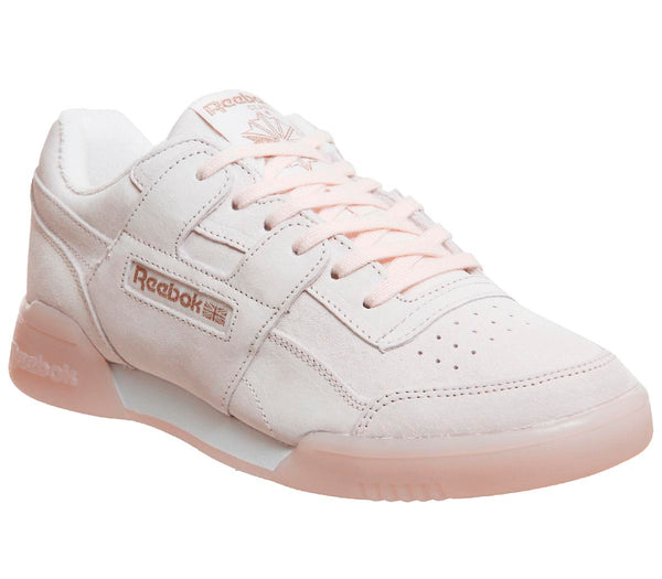 Womens Reebok Workout Plus Pale Pink Rose Gold