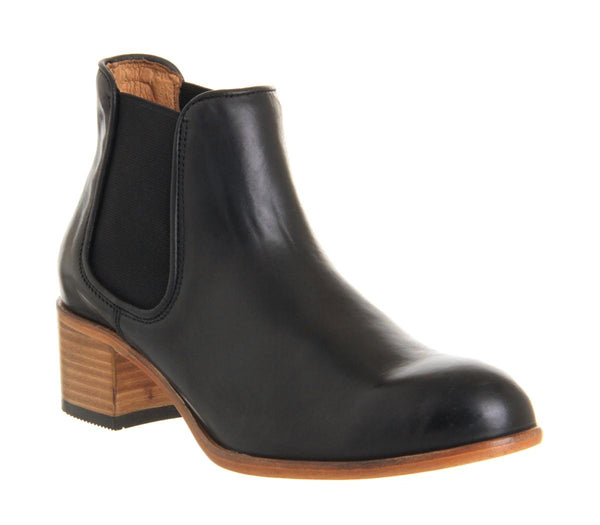 Womens Hudson Bronte Chelsea Boot Black Leather