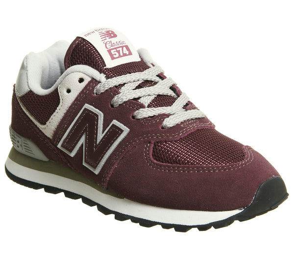 Kids New Balance 574 Kids Burgundy