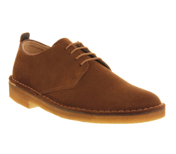 Mens Clarks Desert London Cola Suede