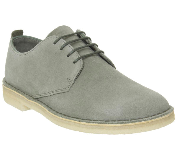 Mens Clarks Desert London Sage