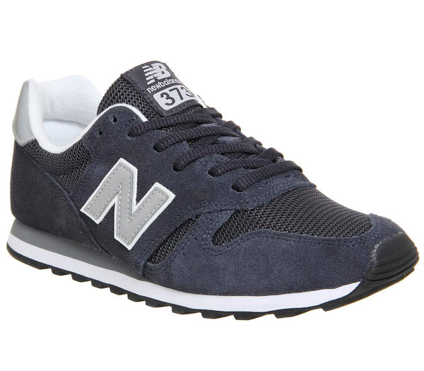 Mens New Balance M373 Navy Silver