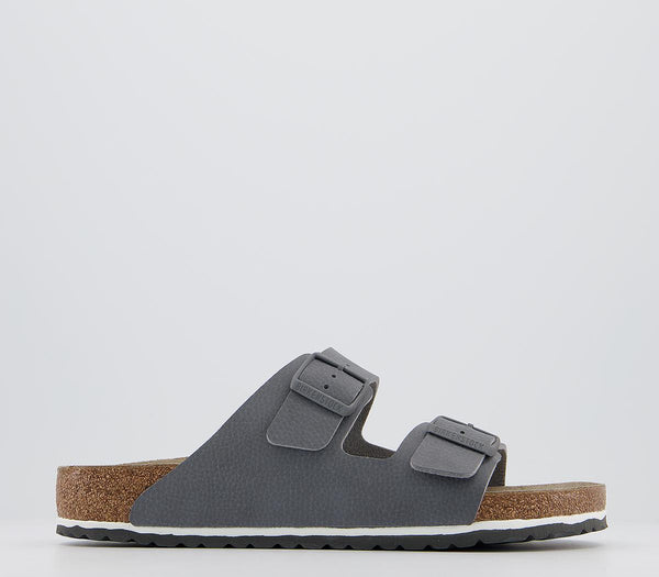 Mens Birkenstock Arizona Two Strap Desert Soil Grey