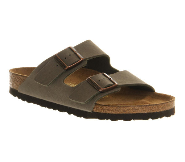 Mens Birkenstock Arizona Two Strap Stone