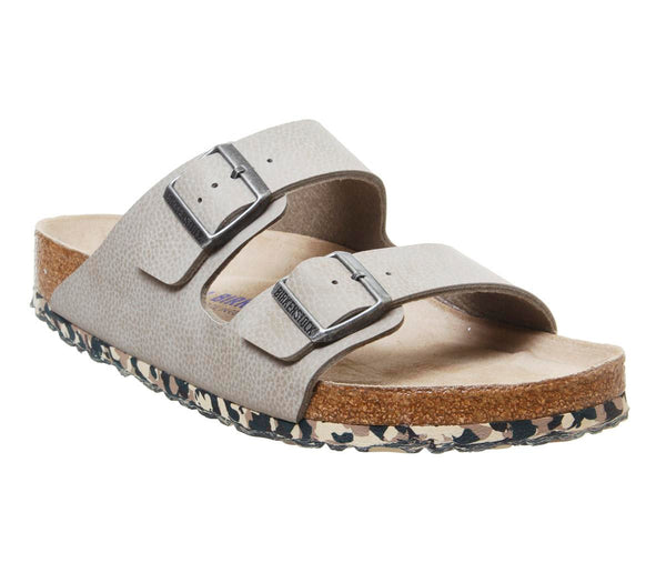 Mens Birkenstock Arizona Two Strap Desert Soil Taupe Uk Size 9.5