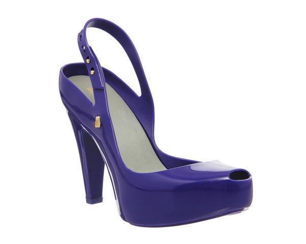 Womens Melissa Ultragirl Heel Sandal Purple