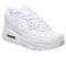 Kids Nike Air Max 90 Ps White White Metallic Silver